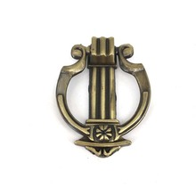 Zinc Alloy Round Type Furniture Cabinet vintage Drawer Pulls And Knobs 32mm Antique Kitchen Handles
