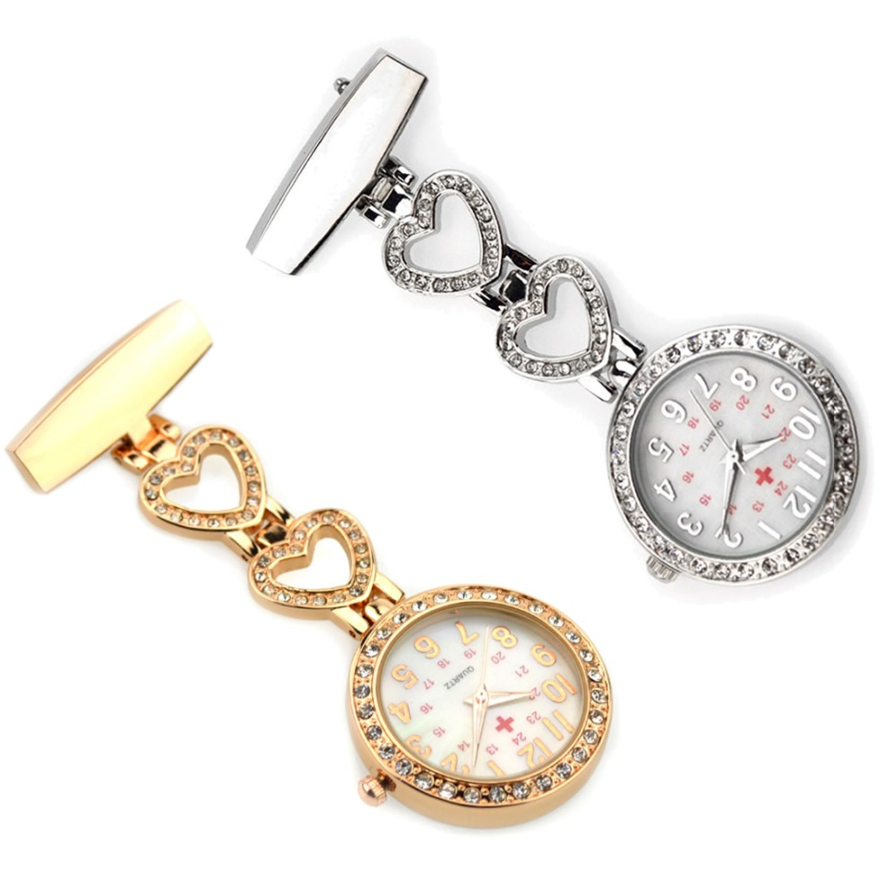 2017 High Quality Heart Nurses Watches Doctor portable Clip-on Pocket Fob Watch Tunic Batteries Medical Nurse Quartz Watch2017 High Quality Heart Nurses Watches Doctor portable Clip-on Pocket Fob Watch Tunic Batteries Medical Nurse Quartz Watch