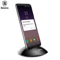 Baseus Desktop Phone Type C Charger For Samsung S8 S9 Note8 Xiaomi Mi5 Mi6 MiA1 Holder