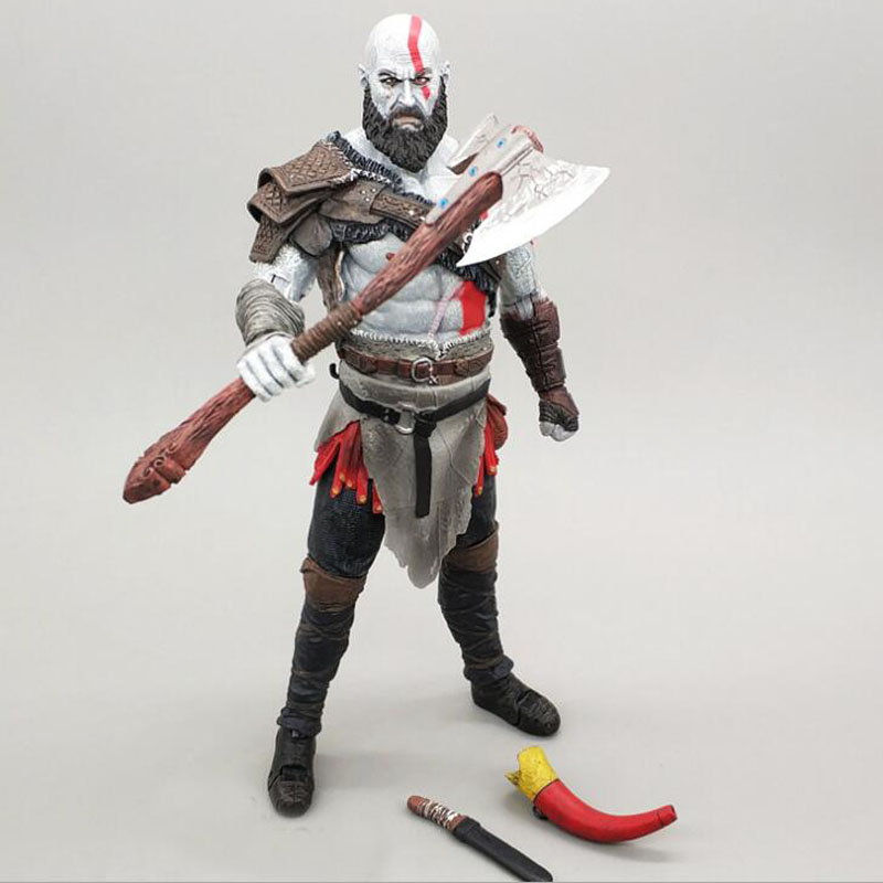 God of War 4 Kratos PVC Action Figure Collectible Model Toy