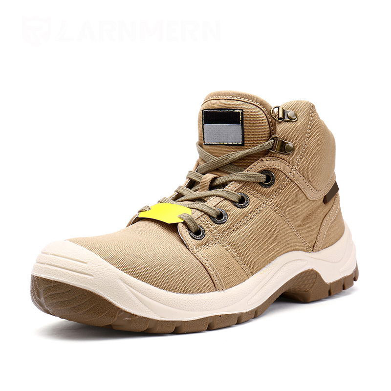 Males Working Security Boots With Metal Toe Desert Fight Boots Outside Protecting Footwear Sneaker