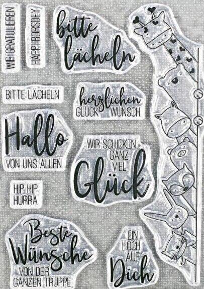 Немецкий прозрачный силиконовый штамп/печать для DIY скрапбукинга/фотоальбома декоративные прозрачные штамп листы A1600|Штампики|   | АлиЭкспресс
