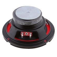 цены 5'' inch 4ohm 25W Audio Speaker Subwoofer Bass Horn Magnetic Loudspeaker