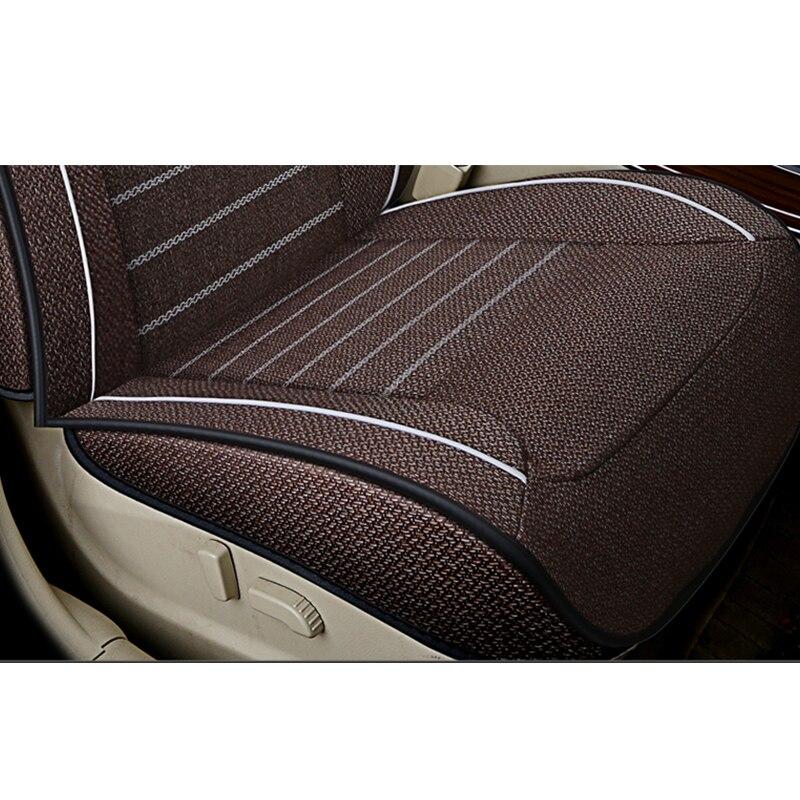 Kokololee универсальные льняные автомобильные чехлы для сидений для Jeep все модели Jeep Grand Cherokee и Renegade compass Commander Cherokee автомобильные аксессуары - 5