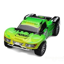 New Wltoys A969 Rc Remote Control Car 1/18 2.4G 6CH Short Course Truck Car
