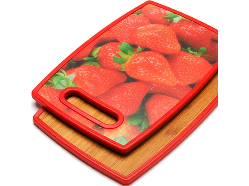 Board cutting MAYER & BOCH, STRAWBERRY, 30*20 cm, double side a4 self healing cutting mat pvc double sided engraving board 3mm thickness
