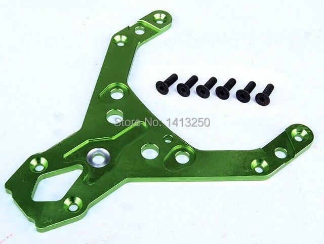 Placa superior dianteira do cnc para baja parts TS-H95097, tira, orange, verde e preto disponível com frete grátis.