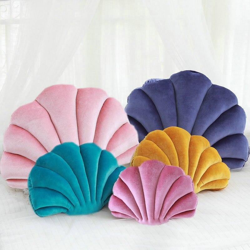 luxury purple velvet shell stuffed pillow plush pillow throw pillow sofa cushion car pillow home bed decoration gift for friend