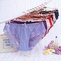 6XL сексуальные трусики, женское нижнее белье, кружевные трусы, бесшовные трусики размера плюс, трусики с цветочным принтом для девушек