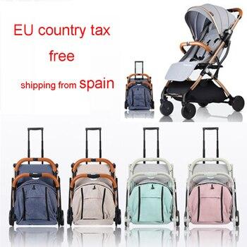 2019 новая детская прогулочная коляска, детская коляска для путешествий, детская коляска для новорожденных, банка для сидения и лежания на са...