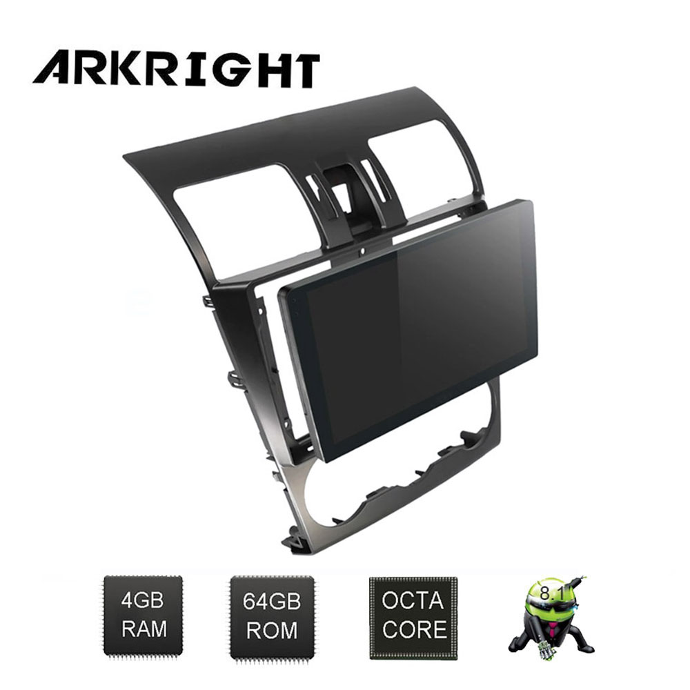 ARKRIGHT 9 ''2Din Android lecteur radio automatique/autoradio GPS navi pour Subaru Forester 2013-2015 centre muplaimedia 4 + 64 gb DVR DSP