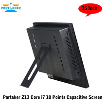 Partaker Z13 10 Points Capacitive Touch Screen Intel Core I7 All In One PC With 2 COM