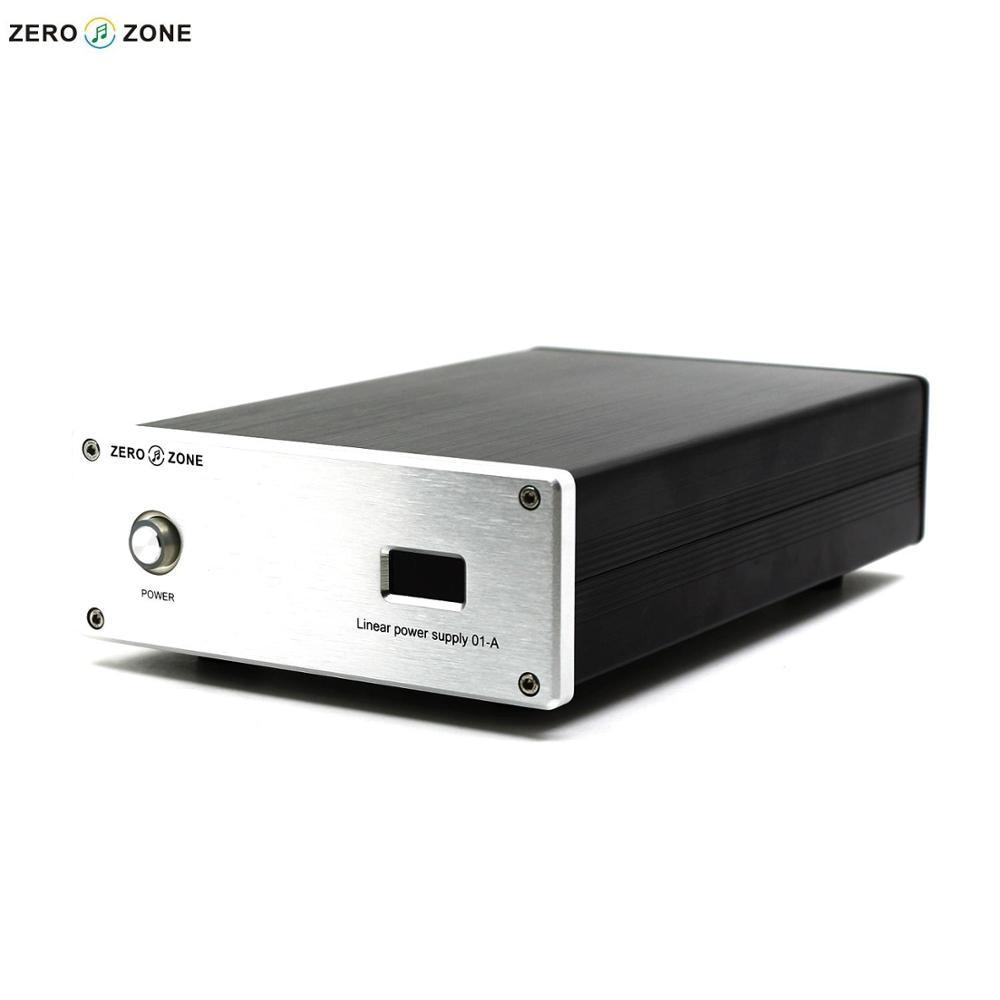 GZLOZONE HIFI 30W Reference-level Linear Power Supply DC 5V/6V/9V/12V/12.6V With Display teradak dc 30w 6v 3a arcam rdac linear power supply