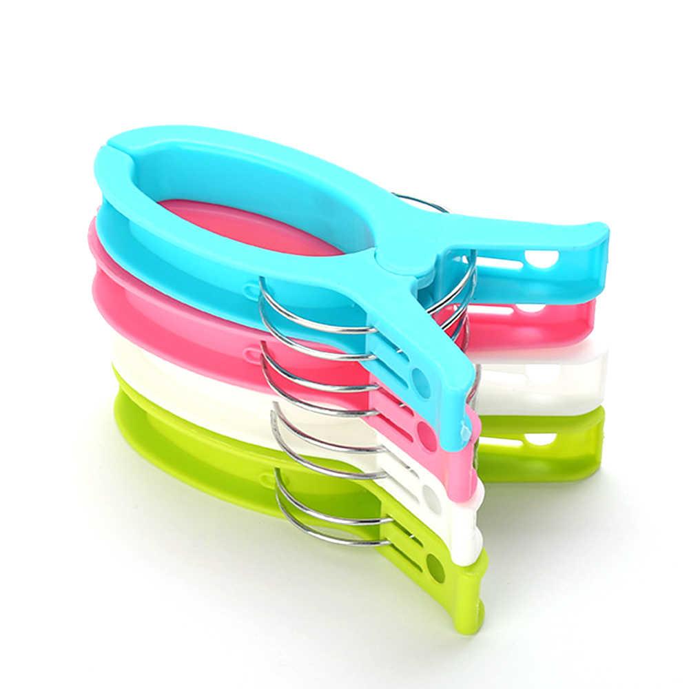 1 Pcs Peg Pin Clothespin Handwerk Clips Große Helle Plastikwäscheklammer Zu Sonnenbank Quilt DIY Kleidung Papier Farbe wäsche clips