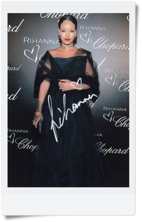 signed Rihanna autographed photo 7 inches free shipping 092017B rihanna anti