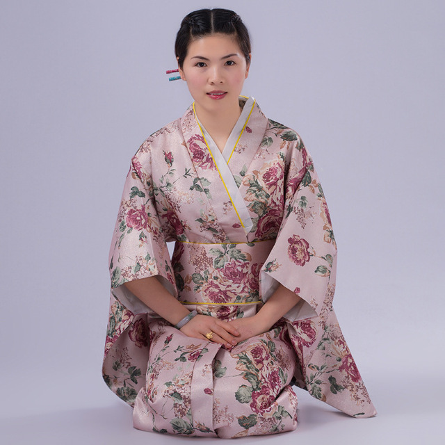 2016 robe traditionnel japonais v tements geisha japonais kimono traditionnel manteau kimono. Black Bedroom Furniture Sets. Home Design Ideas