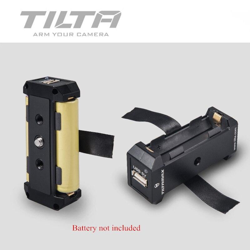 Support de plaque d'alimentation de plaque de batterie Tilta WLC-T04-BP-18650 pour batterie 18650 pour noyau-M noyau-Nano utilisation pour plate-forme TILTA