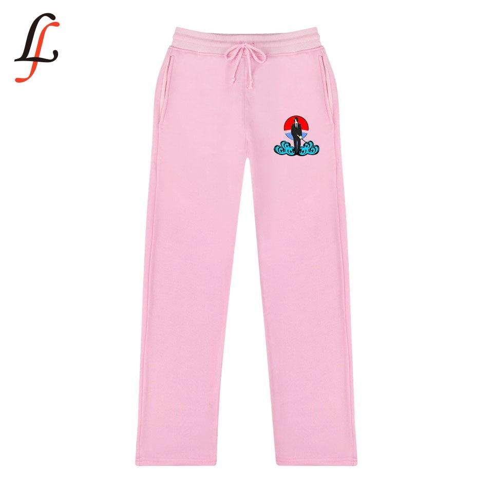 Anime Naruto New 2D Print Trend Fashion Casual Women / Men Fashion   Wide     Leg     Pants   2019 Hot Casual Fashion Sweatpants