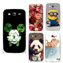 Soft Phone Cases For Samsung Galaxy S III S3 GT-i9300 4.8 inch i9300 I939D DUOS i9300i Back Cover for Samsung Galaxy S2 Case