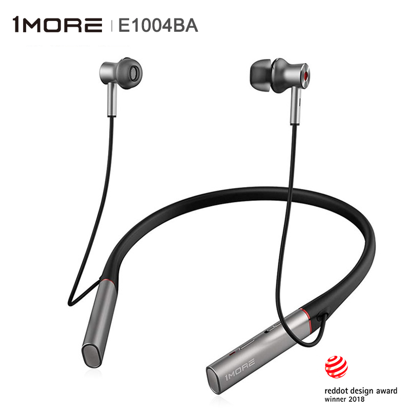 1MORE E1004BA Dual Driver BT ANC Bluetooth HiFi In ear Earphone IEM support Wireless and Wired