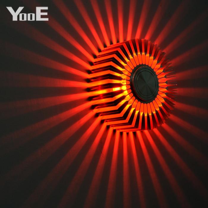 YooE Innenbeleuchtung 3W LED Wandleuchten Sunflower - Innenbeleuchtung - Foto 2