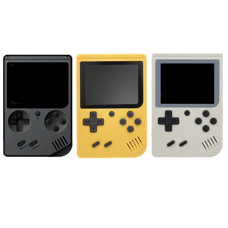 Retro Mini Handheld Game Console Emulator Built-in 168 Games Video Game Player mini arcade for family games