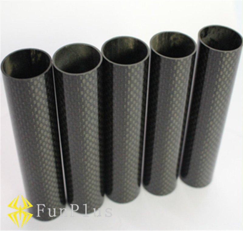 4pcs DIY 3K  Carbon Fiber Tube Pipe OD 8mm ID 6mm Length 500mm Tubes Twill Matte Tail Boom Quadcopter Arms for Hexacopter