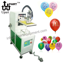 single color semi automatic Latex balloon silk screen printing machine two in one semi automatic round bottle label applicator with date printing machine