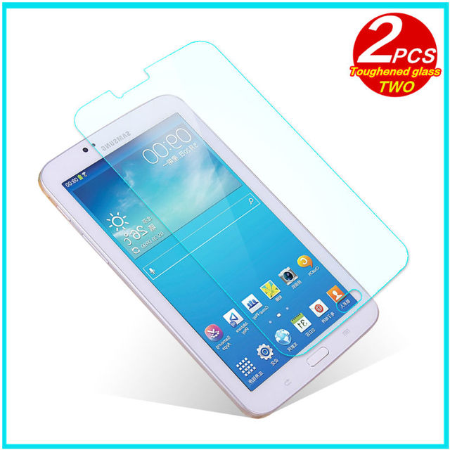 """Tempered Glass membrane For Samsung Galaxy Tab 3 T210 T211 P3200 7.0 Steel film Tablet PC Screen Protect SM-T211 t210 7""""Case HD"""