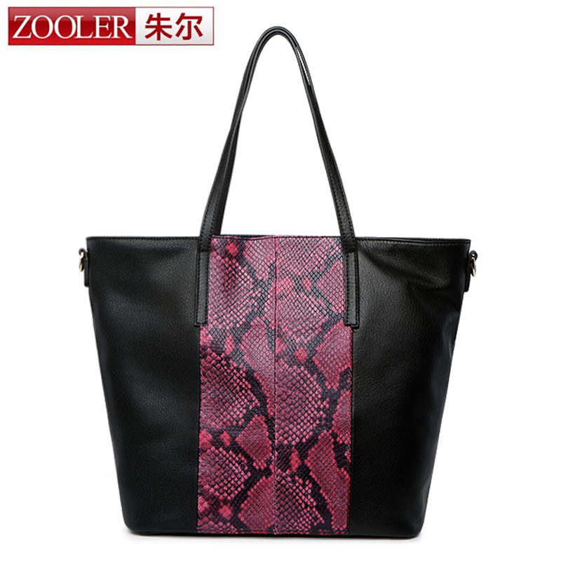 ZOOLER New Women Crocodile Bag 100% Genuine Leather Women Bag Handbag Hot Selling Casual Tote Women Bag Large Travel Bags Sales hot selling 2017 new fashion 1 1 quality genuine leather women handbag speedy bag 30 35cm with starp free shipping