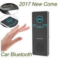 Gakaki Llamando Transmisor Inalámbrico de Manos Libres Bluetooth Kit de Coche Elegante Manos Libres Altavoz Del Coche Con El Cargador Del Coche