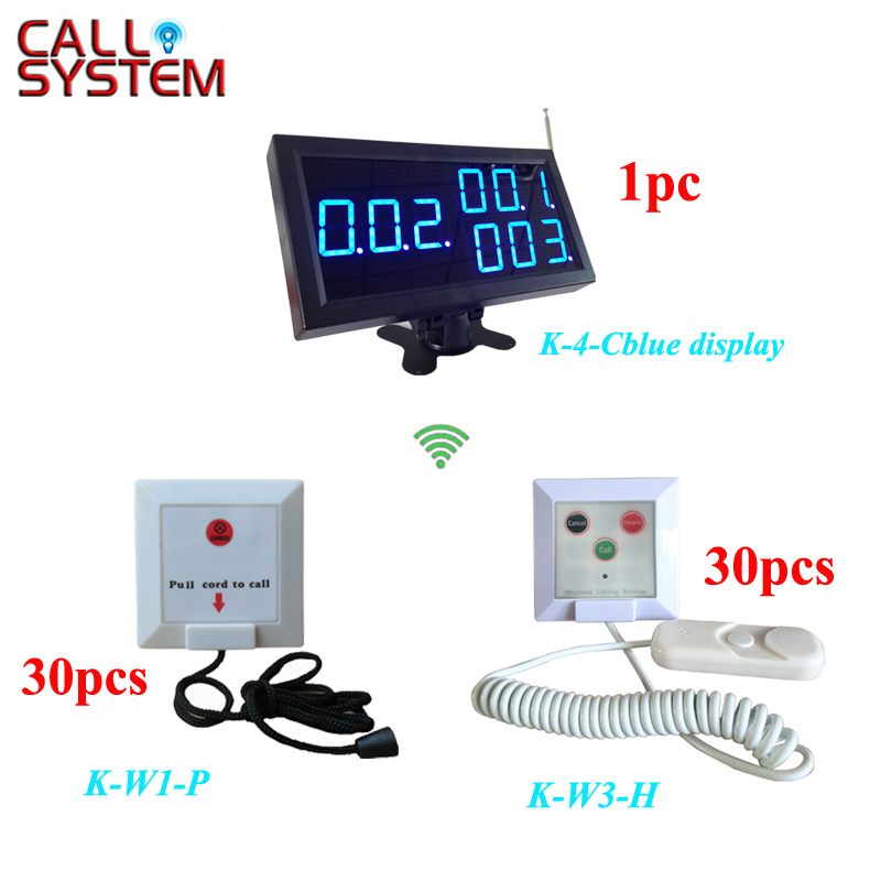 433.92 mhz emergency medical services Nurse call button system for hospital clinic (1pc display + 30pcs K-W1-P + 30pcs K-W3-H) эрос рамазотти eros ramazzotti musica e