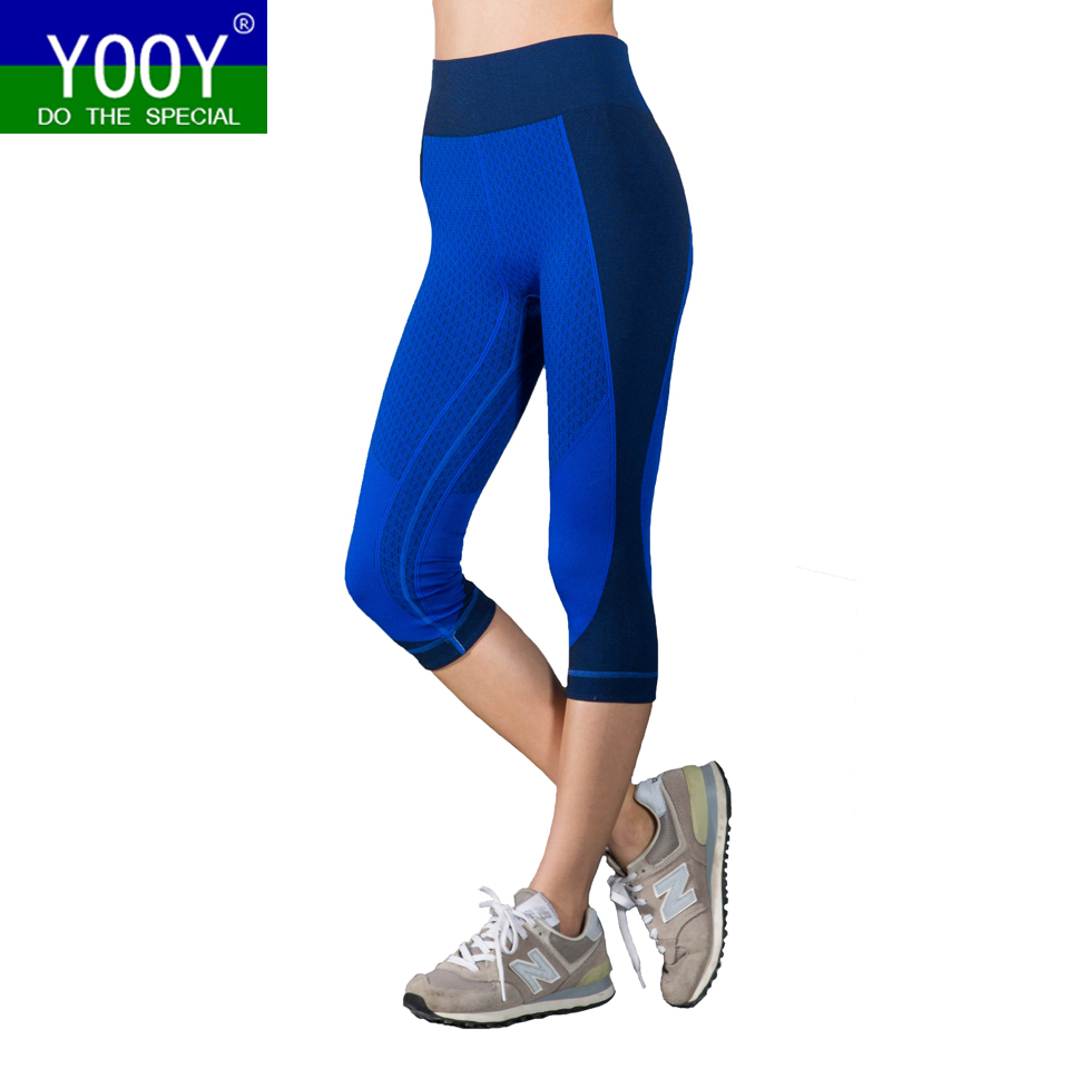 Aliexpress.com : Buy Women Three Quarters Yoga Pants Sport