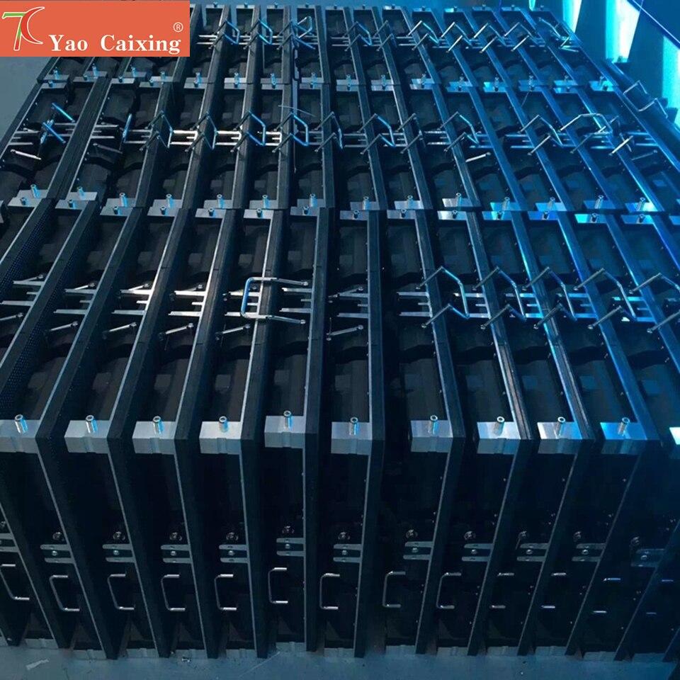 Низкая цена HD открытый p6 СВЕТОДИОДНЫЙ модуль матрицы экран шкафа полноцветного hub75 дисплей этапа Аренда светодиодного экрана панели
