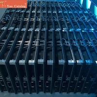 Laagste prijs HD outdoor p6 led matrix module kast scherm rgb full color hub75 podium display verhuur led scherm panel