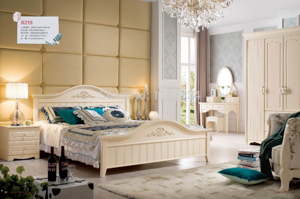 8219 Wholesale price furniture manufacturer factory price double bed king size luxurious grand bed wooden bed bedroom furniture free shipping original 9 inch lcd screen original cable ed090na 01d