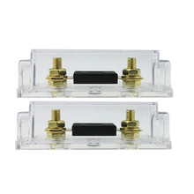 2 pcs high quality 100A ANL Fuse Holder with Plug-in type