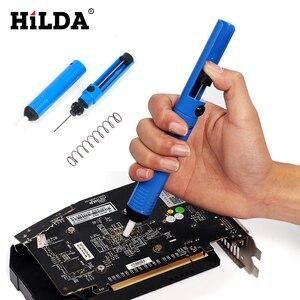 Image 4 - HILDA 220V/110V 60W Elektrische Lötkolben Einstellbare Temperatur Löten Gun Schweißen Rework Tool Kit Für reparatur