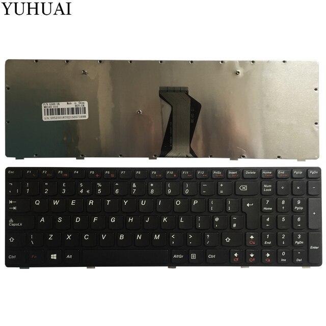 Novo para Lenovo G500 G505 G500A G505A G510 G700 G700A G710 G710A G500AM G700AT REINO UNIDO Teclado Do Portátil