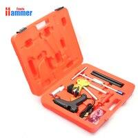 Paintless Dent Repair Removal PDR KING Tools Auto Body Kit dent puller slide hammer Glue Gun Set