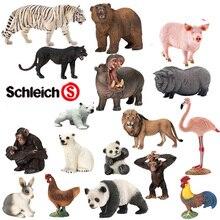 Игрушка в виде дикого животного, имитация белого тигра, панды, гориллы
