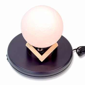 25 cm Led Light Top z napędem elektrycznym obrotowy obracany stół wystawowy dla modelu stojak na biżuterię lub fotografii, maksymalne obciążenie 11 kg - DISCOUNT ITEM  8 OFF All Category