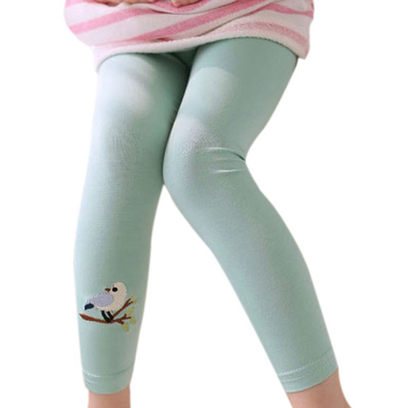 Mutter & Kinder Leggings Mädchen Stretch Leggings Hosen Kleinkind Kind Candy Farbe Hosen