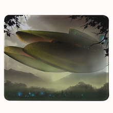 Hot Sales Luxury STARCRAFT UFO CARRIER SCIENCE FICTION VIDEO Computer Game Gaming Mouse Mats Anti-Slip Rectangle Mouse Pad