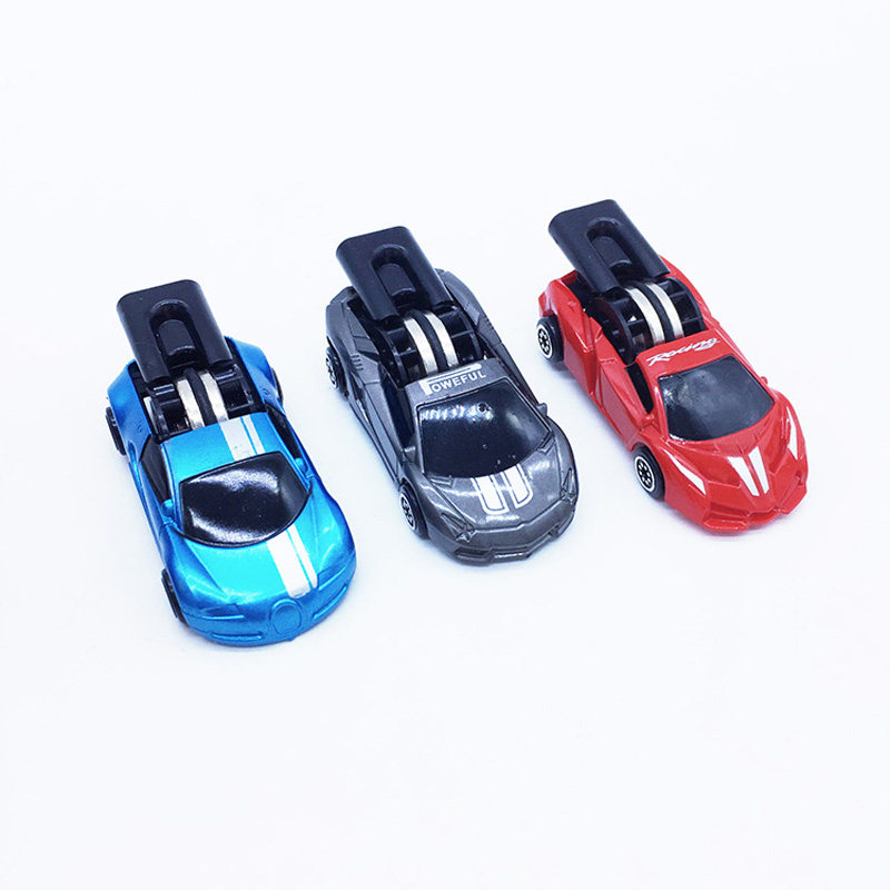 3 Pieces Kids Plastic Car Model Set Educational Toys For Children Wheels Whistle Power Car Funny Antistress Toy For Baby