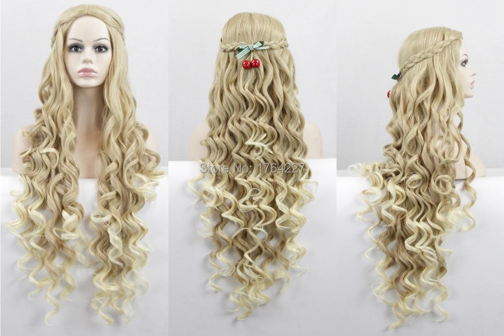 Prime Aliexpress Com Buy Long Beauty Wavy Curly Blonde Natural Short Hairstyles Gunalazisus