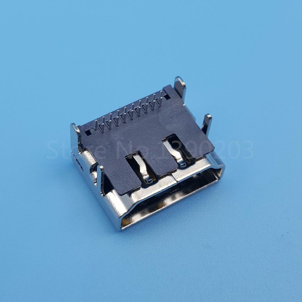 50Pcs HDMI Type A 2Row 19Pin DIP Female Socket Right Angle PCB ...
