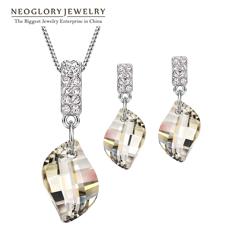 Neoglory Wedding Bridesmaid Jewelry Sets For Women Brand 2019 New Gifts Embellished with Crystals from SwarovskiNeoglory Wedding Bridesmaid Jewelry Sets For Women Brand 2019 New Gifts Embellished with Crystals from Swarovski
