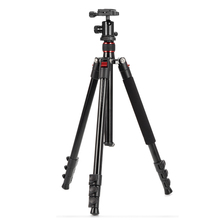 TRIOPO CT-628 + KJ-1S Professional Portable Aluminium Alloy Photo / Video Tripod Max Load Capacity up to 8Kg/17.6lbs