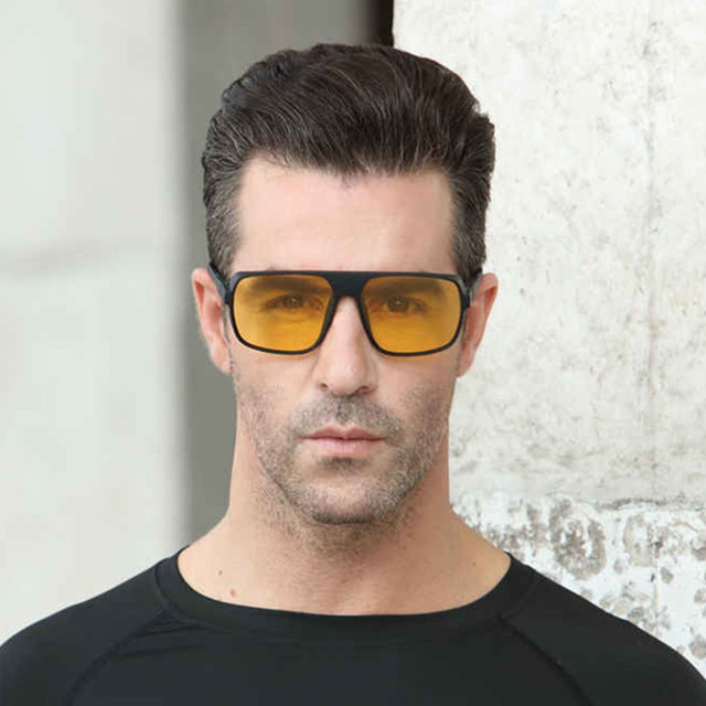 Long Keeper Light-weight Polarized Men Punk Retro Sun Glasses Steampunk Driving  Mirror Reflective Sunglasses Women Goggles 4